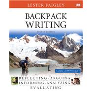 Backpack Writing by Faigley, Lester, 9780133862669