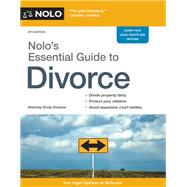 Nolo's Essential Guide to Divorce by Doskow, Emily, 9781413322675