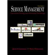 Services Management by Fitzsimmons, 9780072312676
