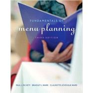 Fundamentals of Menu Planning by McVety, Paul J.; Ware, Bradley J.; Lévesque Ware, Claudette, 9780470072677