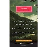 A Study in Scarlet / The Sign of Four / The Hound of the Baskervilles by Doyle, Arthur Conan, Sir; Lycett, Andrew, 9780375712678