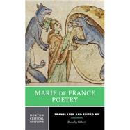 Marie De France Poetry by De France, Marie; Gilbert, Dorothy, 9780393932683
