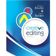 Creative Editing by Bowles, Dorothy A.; Borden, Diane L., 9781439082690