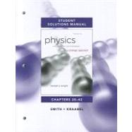 Student Solutions Manual for Physics for Scientists and Engineers A Strategic Approach Vol. 2(Chs 20-42) by Knight, Randall D., (Professor Emeritus), 9780321772695