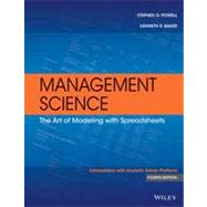 Management Science by Powell, Stephen G.; Baker, Kenneth R., 9781118582695