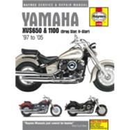 Haynes Yamaha Xvs650 & 1100 Drag Star, V-star '97 to '11 Repair Manual by Haynes Manuals, 9781785212697