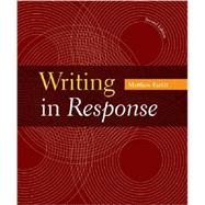Writing in Response by Parfitt, Matthew, 9781457672699