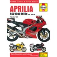 Haynes Aprilia Rsv 1000 Mille, Including Rsv-r '98 to '03 Repair Manual by Editors of Haynes Manuals, 9781785212703