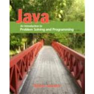 Java : An Introduction to Problem Solving and Programming by Savitch, Walter, 9780132162708