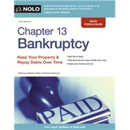 Chapter 13 Bankruptcy by Elias, Stephen; Dzikowski, Patricia, 9781413322712