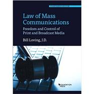 Law of Mass Communications by Loving, Bill, 9781634602716