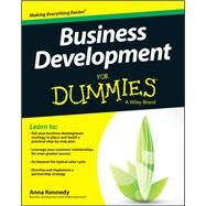 Business Development for Dummies by Kennedy, Anna, 9781118962718