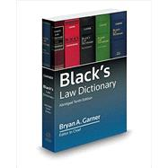 Black's Law Dictionary by Garner, Bryan A., 9780314642721