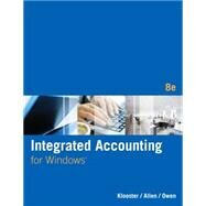 Integrated Accounting (with General Ledger CD-ROM) by Klooster, Dale A.; Allen, Warren; Owen, Glenn, 9781285462721