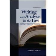 Writing and Analysis in the Law by Shapo, Helene S.; Walter, Marilyn R.; Fajans, Elizabeth, 9781609302726