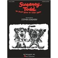 Sweeney Todd by Sondheim, Stephen, 9781423472728
