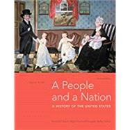 A People and a Nation, Volume I: to 1877 by Kamensky, Jane; Sheriff, Carol; Blight, David W.; Chudacoff, Howard; Logevall, Fredrik, 9781337402729