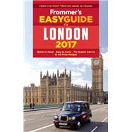 Frommer's EasyGuide to London 2017 by Cochran, Jason, 9781628872729