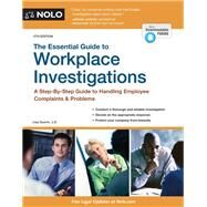 The Essential Guide to Workplace Investigations by Guerin, Lisa, 9781413322736