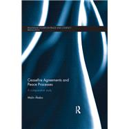 Ceasefire Agreements and Peace Processes: A comparative study by Akebo; Malin, 9781138672741