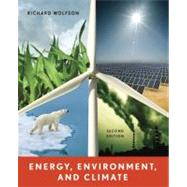 Energy, Environment, and Climate by WOLFSON,RICHARD, 9780393912746