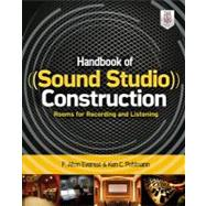 Handbook of Sound Studio Construction: Rooms for Recording and Listening by Pohlmann, Ken, 9780071772747