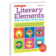 Literary Elements Write-On/Wipe-Off Flip Chart An Interactive Learning Tool That Teaches 14 Essential Literary Elements to Help Students Meet the Core Standards