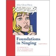 Foundations in Singing w/ Keyboard fold-out by Paton, John Glenn; Christy, Van, 9780073212753