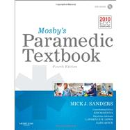 Mosby's Paramedic Textbook (Book with DVD) by Sanders, Mick J.; McKenna, Kim D., R. N. (CON); Lewis, Lawrence M., M.D. (CON); Quick, Gary, M.D. (CON), 9780323072755