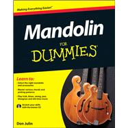 Mandolin for Dummies by Julin, Don, 9781119942764
