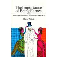 Importance Being Earnest by Wilde O, 9780380012770