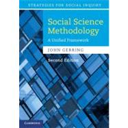 Social Science Methodology: A Unified Framework by John Gerring, 9780521132770