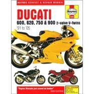 Ducati 600, 620, 750 & 900 2-valve V-twins '91 to '05 by Cox, Penny, 9781844252770