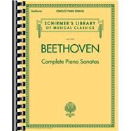 Complete Piano Sonatas by Beethoven, Ludwig Van (COP), 9781480332775