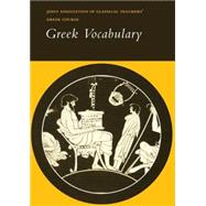 Reading Greek: Greek Vocabulary by Corporate Author Joint Association of Classical Teachers, 9780521232777