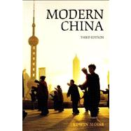 Modern China by Moise,Edwin E., 9780582772779