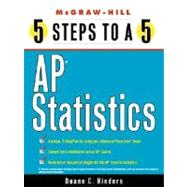 5 Steps to a 5 AP Statistics by Hinders, Duane C., 9780071412780
