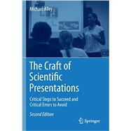The Craft of Scientific Presentations: Critical Steps to Succeed and Critical Errors to Avoid by Alley, Michael, 9781441982780