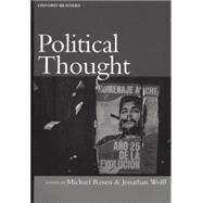 Political Thought by Rosen, Michael; Wolff, Jonathan; McKinnon, Catriona, 9780192892782