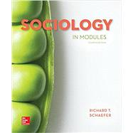 Sociology in Modules by Schaefer, Richard T., 9781260152784