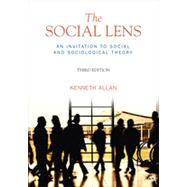 The Social Lens by Allan, Kenneth, 9781412992787