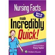 Nursing Facts Made Incredibly Quick by Unknown, 9781496372789