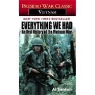 Everything We Had by SANTOLI, AL, 9780345322791