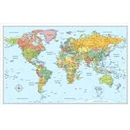 Rand McNally The World Wall Political Map by Rand Mcnally, 9780528012792