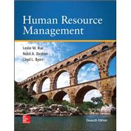 Human Resource Management by Rue, Leslie; Byars, Lloyd; Ibrahim, Nabil, 9780078112799