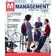 M: MANAGEMENT (W/REVIEW CARDS ONLY)(LOOSE-LEAF) by Bateman, Thomas; Snell, Scott; Konopaske, Robert, 9781259732805