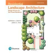 Residential Landscape Architecture Design Process for the Private Residence by Booth, Norman K.; Hiss, James E., 9780134602806
