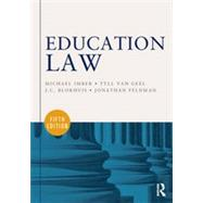 Education Law by Imber; Michael, 9780415622806