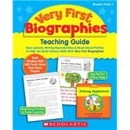 Very First Biographies Easy-to-Read Books About 16 Amazing People All Young Learners Should Know About by Scholastic; Teaching Resources, Scholastic; Scholastic, 9780545172806