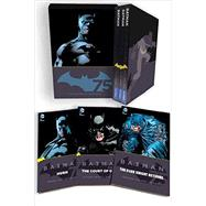 Batman 75th Anniversary Box Set by SNYDER, SCOTT; CAPULLO, GREG, 9781401252809